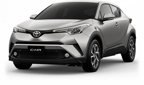 Toyota CH-R Silver