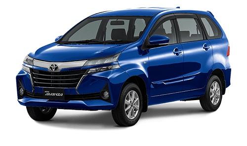 Toyota New Avanza Biru