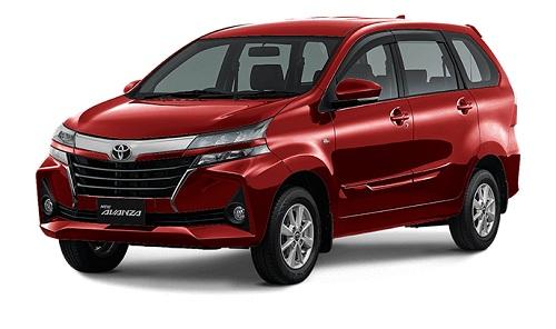 Toyota New Avanza Merah