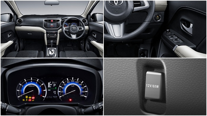 Interior Toyota All New Rush