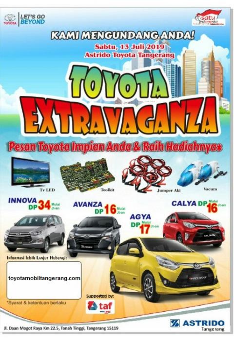 Promo Toyota Avanza DP 16 Jutaan