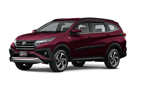 Toyota All New Rush Bordeaux