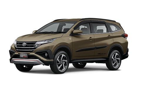 Toyota All New Rush Bronze