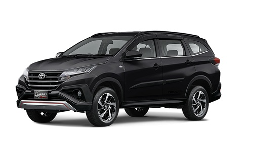 Toyota All New Rush Hitam