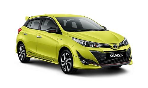 Toyota New Yaris Kuning