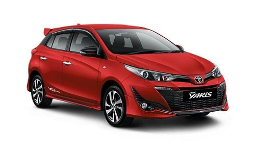 Toyota New Yaris Merah