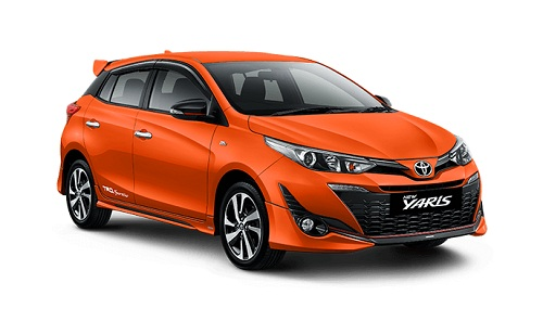 Toyota New Yaris Orange