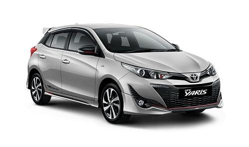 Toyota New Yaris Silver
