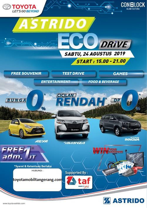Promo Toyota Tangerang Agustus