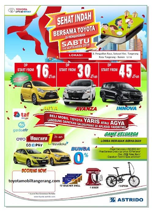 Promo Toyota Tangerang September
