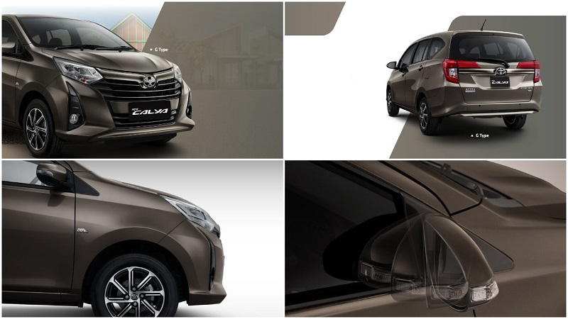 Exterior Toyota New Calya