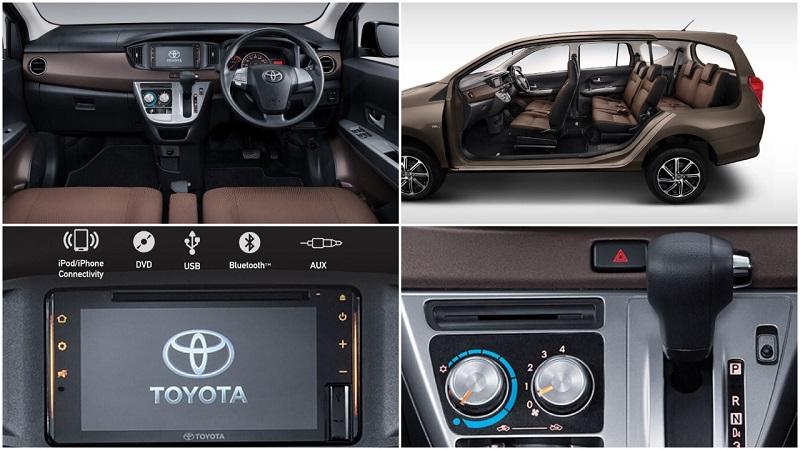 Interior Toyota New Calya