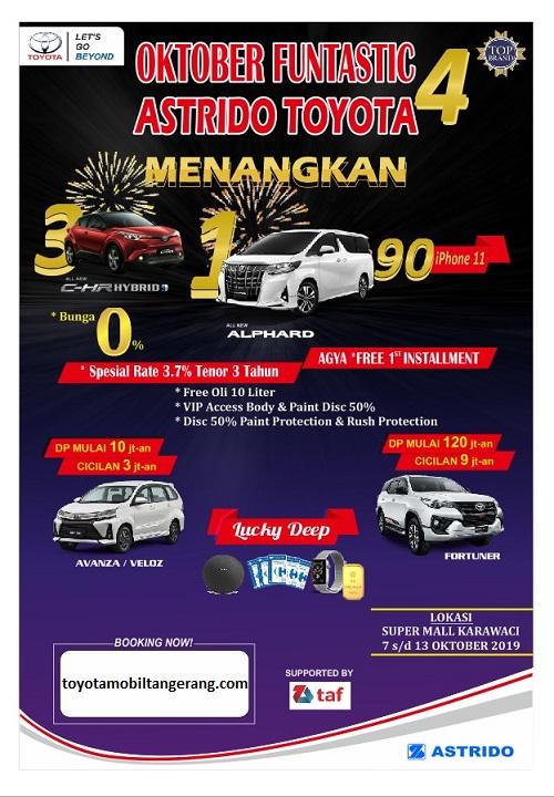 Promo Toyota Tangerang Oktober