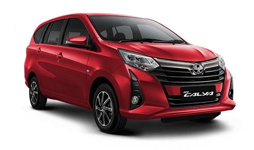Toyota New Calya Merah