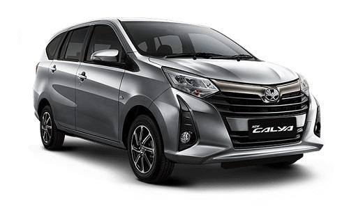 Toyota New Calya Silver