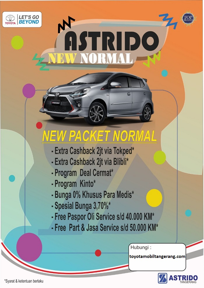 Promo Toyota Cashback Besar