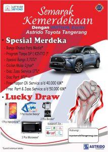 Promo Kemerdekaan Toyota