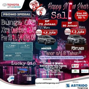 Promo Toyota Awal Tahun 2021 Tangerang